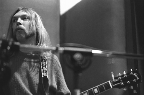 Duane Allman The Allman Brothers Baron Wolman photo photograph print