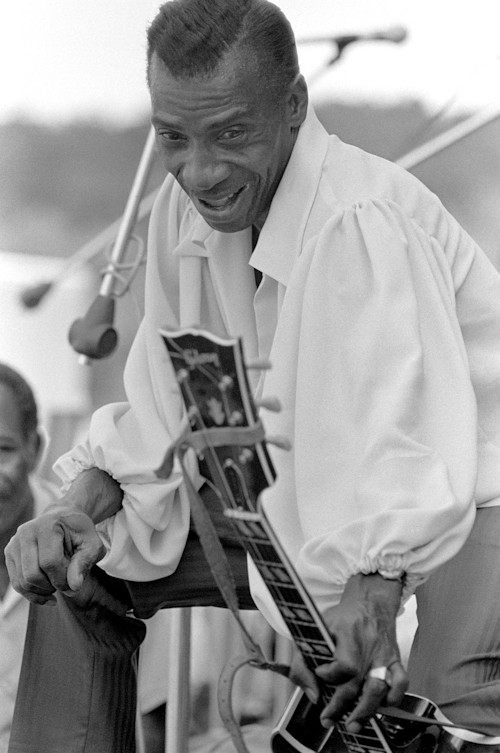 T-Bone Walker Baron Wolman Photo Print Photograph