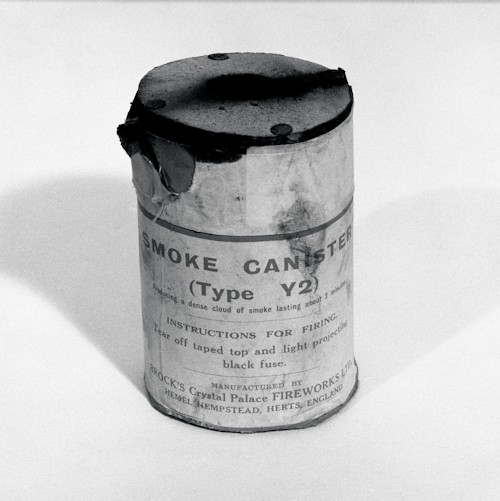 Smoke Canister The Who Baron Wolman Photo Print Photograph