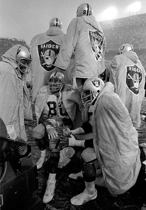 Oakland Raiders Baron Wolman Photo Print Photograph